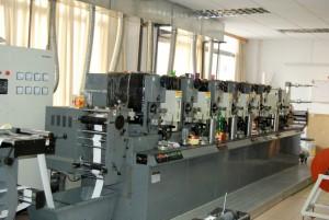 印刷機械写真