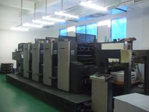 印刷機械写真1