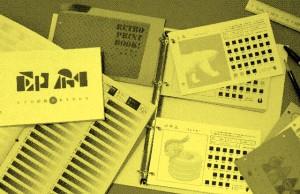 レトロ印刷 印刷見本1