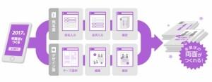 DigiBook 年賀状2017