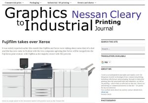 Graphics to Industrial Printing Journal